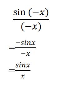 xがマイナスの場合の式変形です。